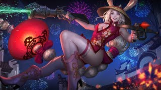 Vainglory​ รีวิว Red Lantern​ Gwen Skin​ [SE] (Slowmotion)
