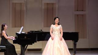 소프라노 김수현...Panis Angelicus(생명의 양식, C. Franck 곡) / 2019 가곡과 아리아 그리고 은혜의 찬양 콘서트