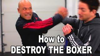 Wing Chun training - Wing chun how to destroy the boxer follow up thumbnail
