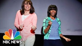 Michelle Obama's Best Moments On The Tonight ...