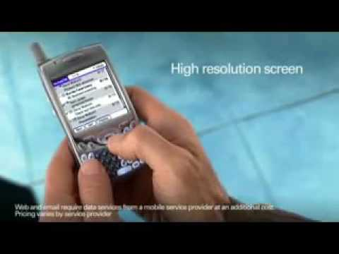 Palm Treo 650 Commercial