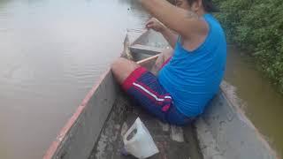 """De pesca en la bocana de abajo """"Río Vinces"""""""