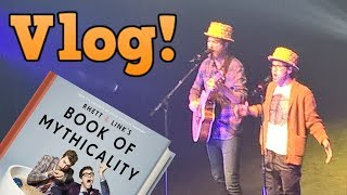 VLOG: Seeing Rhett & Link LIVE at the Tour of Mythicality! (This Was AMAZING)  Dalek Vlog #11