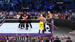 WWE 2K15 funny moments and bugs