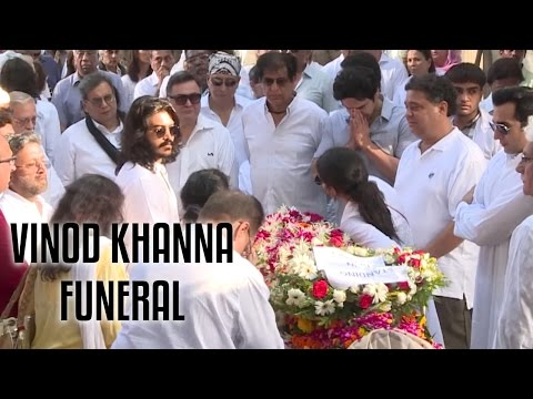 Vinod Khanna's Funeral Full Video | R.I.P