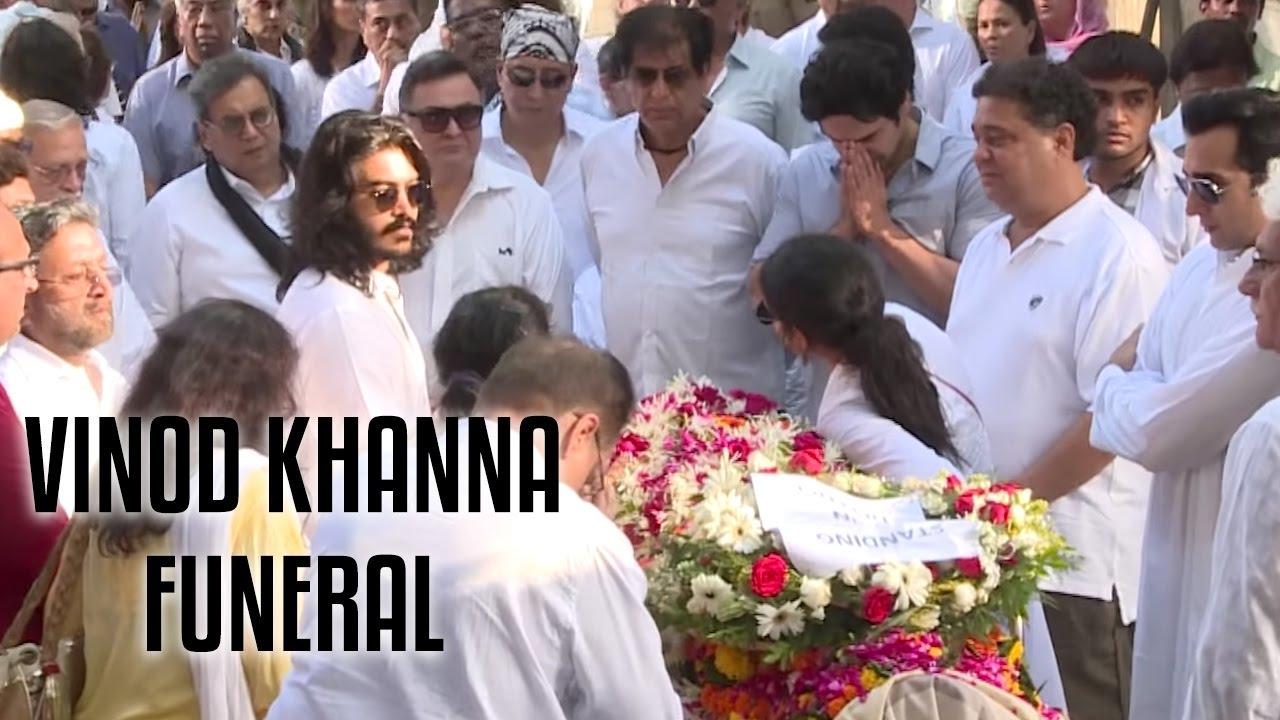 Download Vinod Khanna's Funeral Full Video | R.I.P