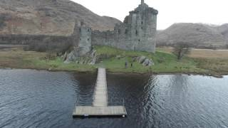 Kilchurn Castle Loch Awe 4K