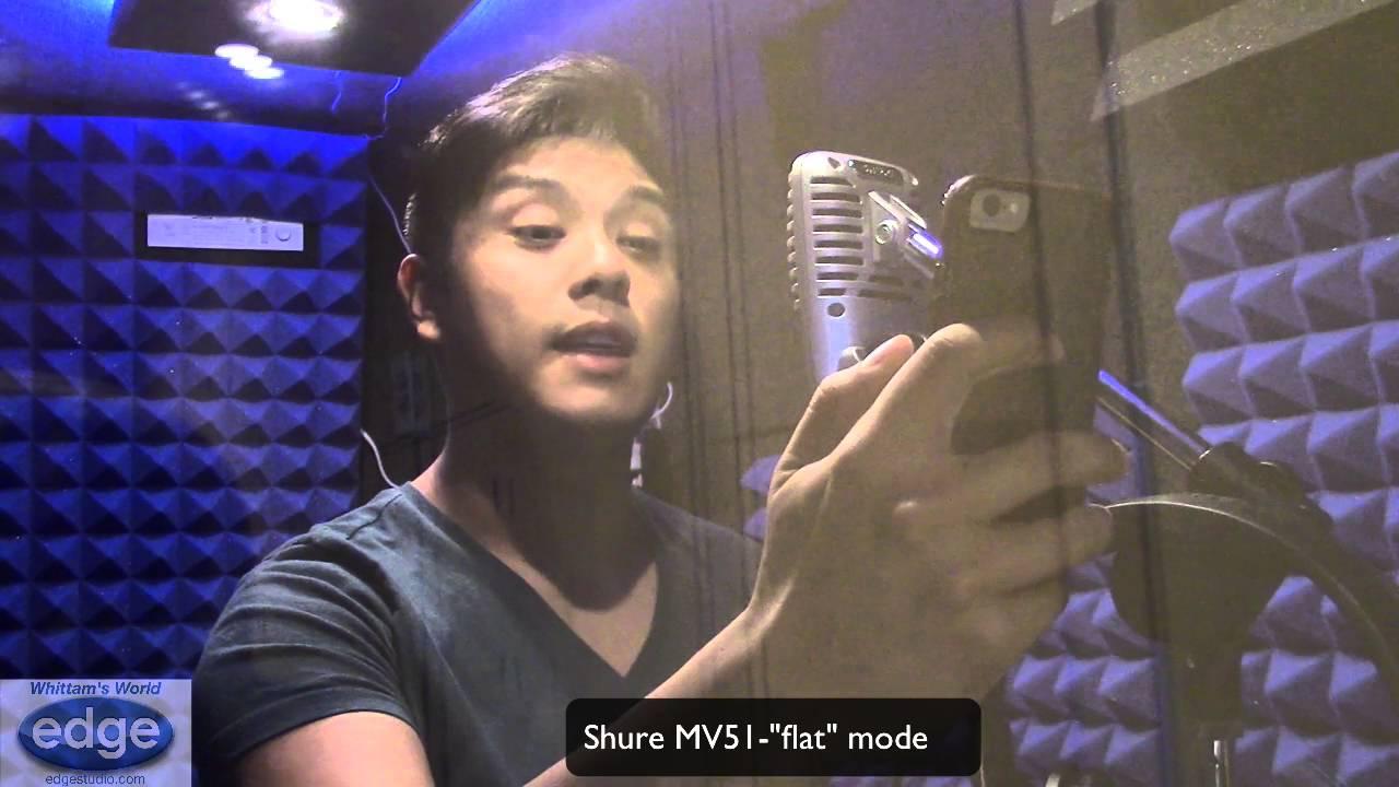 """Edge Studio's Whittam's World - Episode 79 """"USB Mic Shootout"""""""