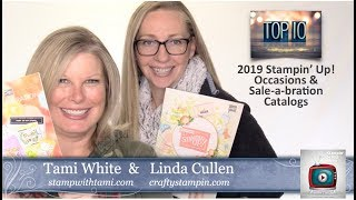 New 2019 Stampin Up Catalog Launch Party Live with Prize Patrol – Episode 70