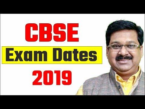 CBSE Board Exam Dates 2019, #arvindacademy
