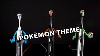 Pokemon Theme on Electric Toothbrushes