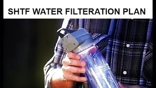 Personal Uv Shft Water Filter  Great For Your Bug Out Bag!
