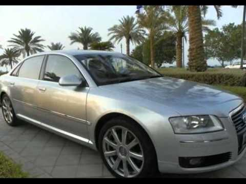 Audi A8 2006 silver for sale in Qatar
