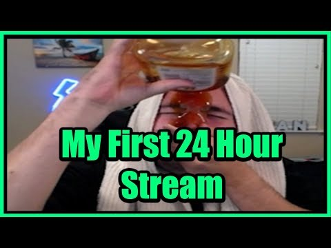So I Did My First Ever 24 Hour Stream...