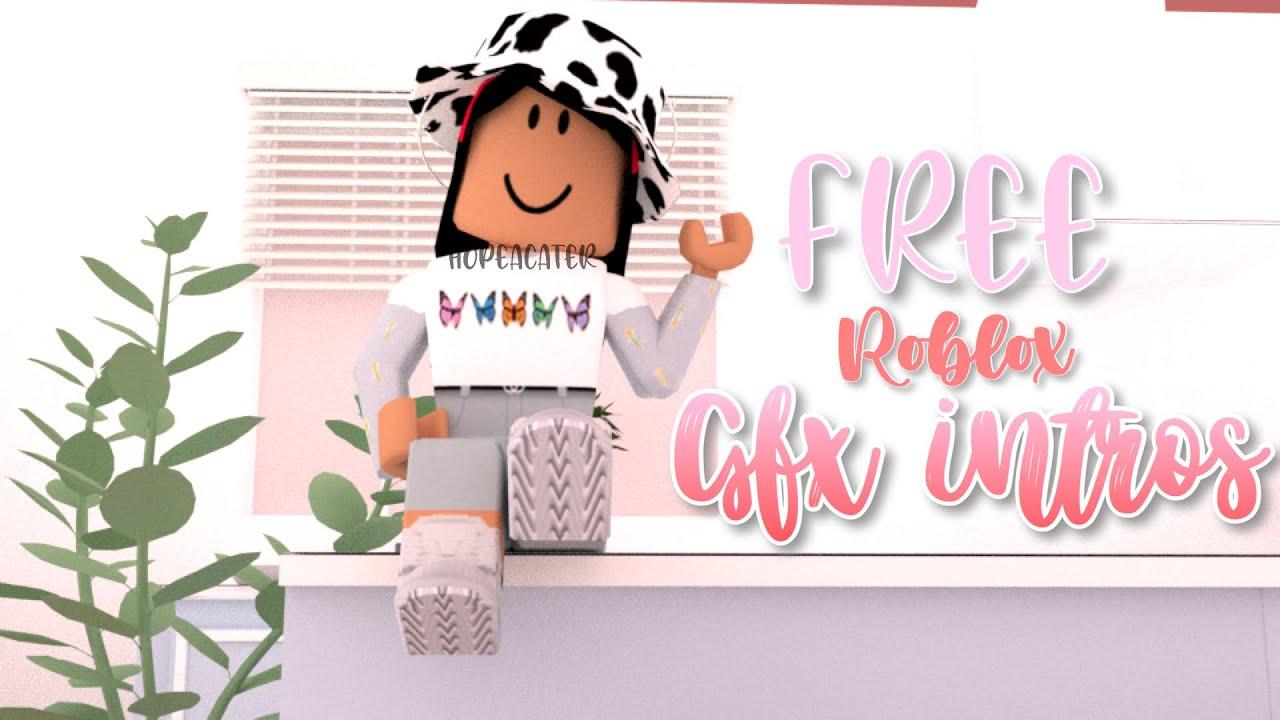 Roblox Gfx Free 5 Free Roblox Gfx Intros No Text Templates Youtube