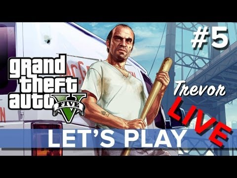 Grand Theft Auto 5 - Let's Play LIVE #5 - Eurogamer