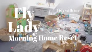 TIDY WITH ME : MORNING HOME RESET : MINIMALIST FAMILY HOME