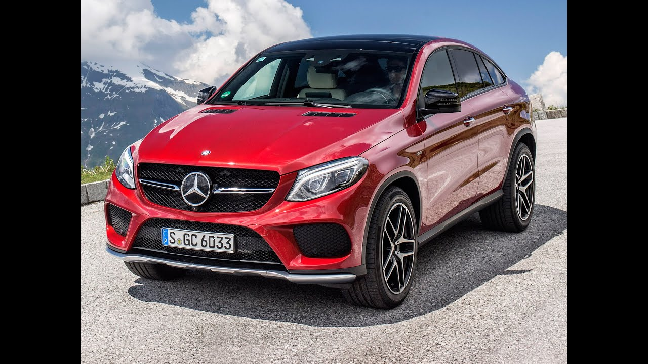 mercedes benz gle 450 amg 4matic coup im test youtube. Black Bedroom Furniture Sets. Home Design Ideas