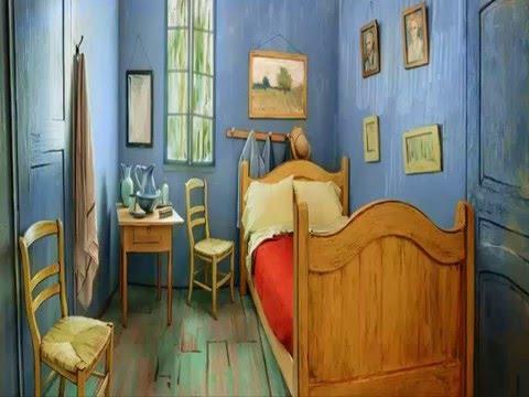 Van Gogh S Bedroom Recreated In Chicago As Airbnb Rental Youtube