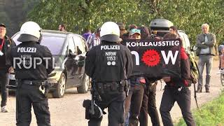 Germany: Hambach Forest protests rage on for 6th day