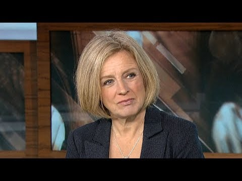 "Rachel Notley says Alberta's oil crisis is ""starving the economy"""