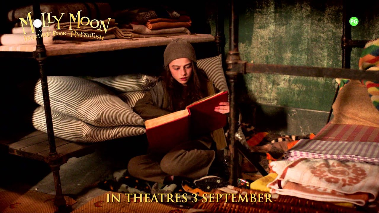 molly moon book report Molly moon and the incredible book of hypnotism movie reviews & metacritic score: a young orphan girl, molly moon, comes across a book 'hypnotism, an ancie.