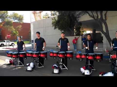 Pride of Arizona drumline Stick Control