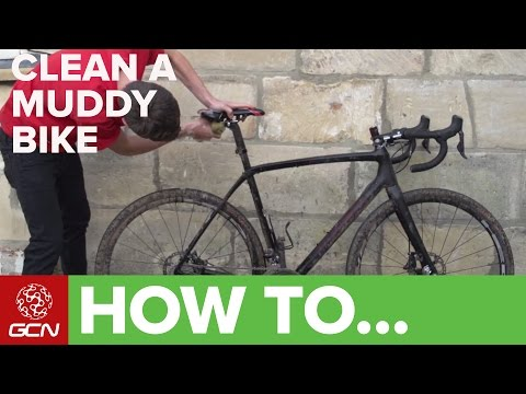 How To Clean A Muddy Bike – Wash A Cyclo-Cross Bike