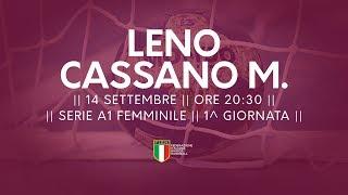 Serie A1F [1^]: Leno - Cassano Magnago 21-23