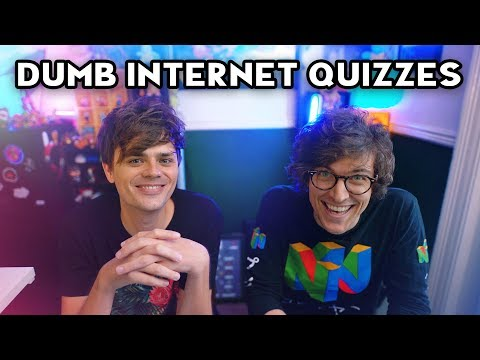 DUMB INTERNET QUIZZES With Chris Kendall