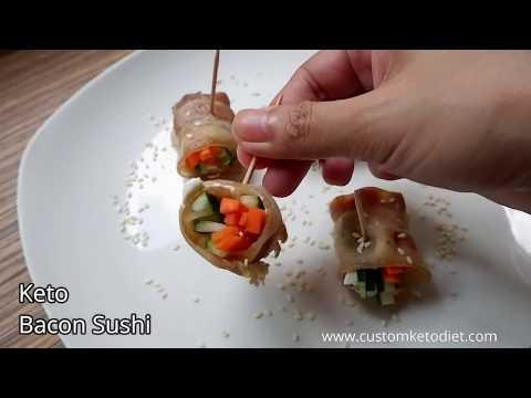 3-keto-bacon-sushi