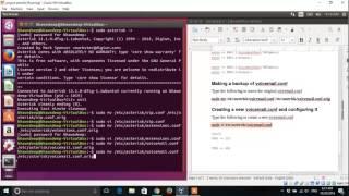 Project of configuring 2 SIP phones on asterisk server on Ubuntu 16.04