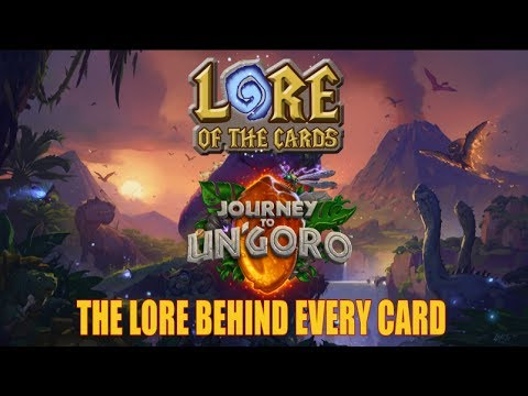 Hearthstone | Lore of the Cards | Lore of Every Card in Journey to Un'Goro