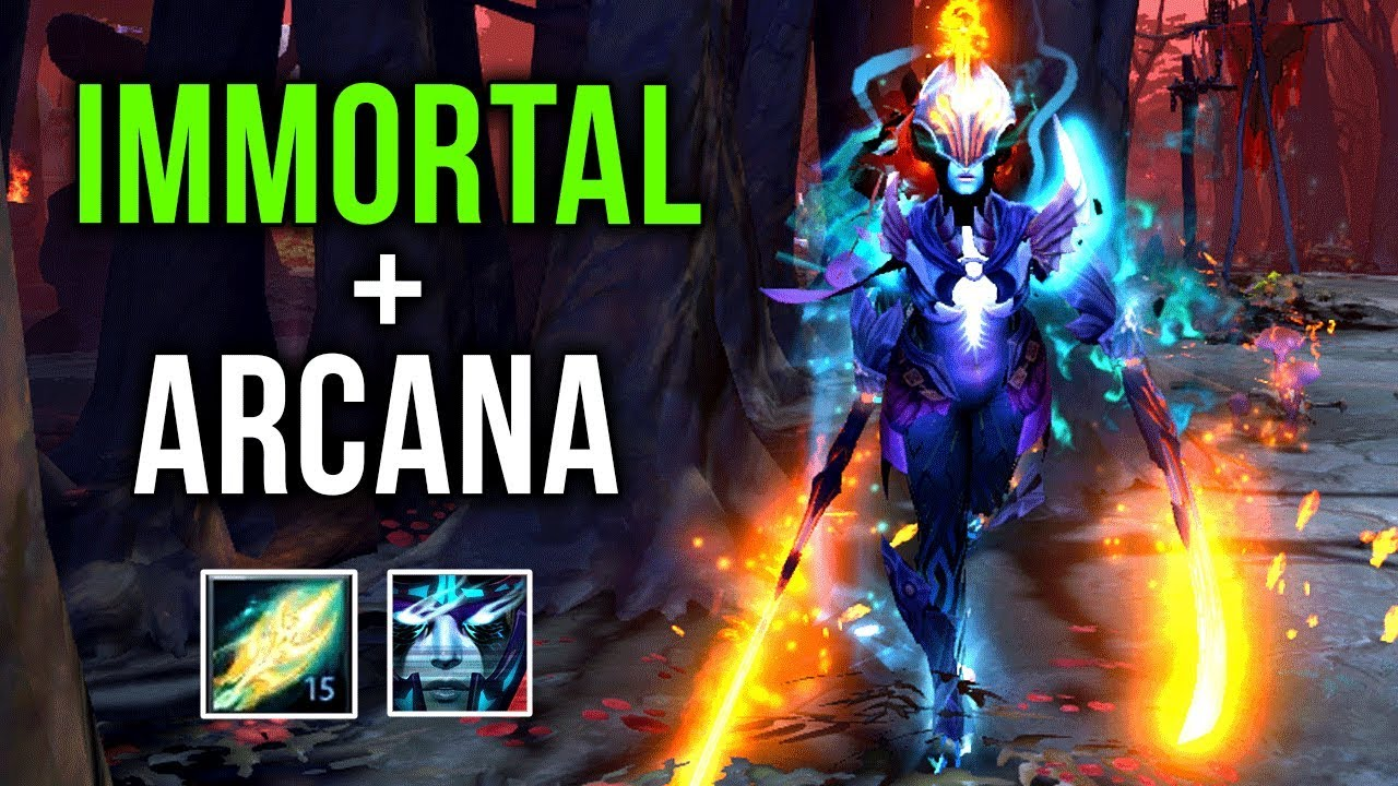 MOST INSANE PA SET EPIC Phantom Assassin Combine Immortal Arcana By Kiak 29 1 Gameplay Dota
