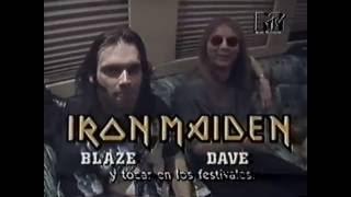 Скачать Iron Maiden Blaze Bayley Y Dave Murray MTV Headbangers 1996