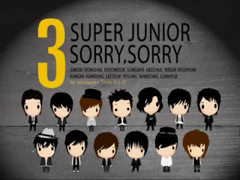 Super Junior - Sorry Sorry  (female ver.)