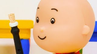 ★NEW★ 🎵 Caillou's music prank 🎵 Funny Animated Kids show | Caillou Stop Motion