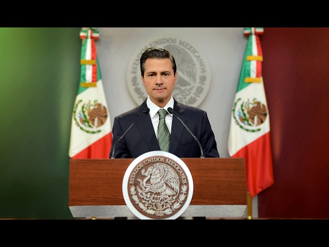 Mensaje del Presidente de la República, Enrique Peña Nieto