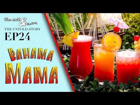How to make a Bahama Mama and lots of Drinking Games!