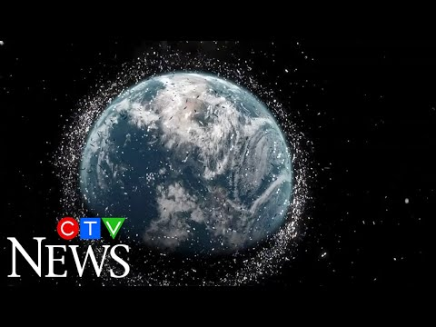 The European Space Agency is concerned about a rise in space debris