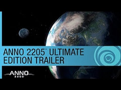 ANNO 2205  ULTIMATE EDITION TRAILER Poster