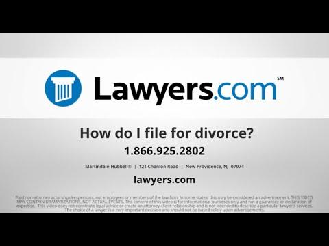 Where Do I File for Divorce? - Lawyers com