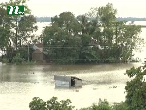 Flood situation deteriorates in different districts I News & Current Affairs
