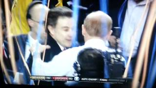 Rick Pitino Louisville wins and shots are fired?