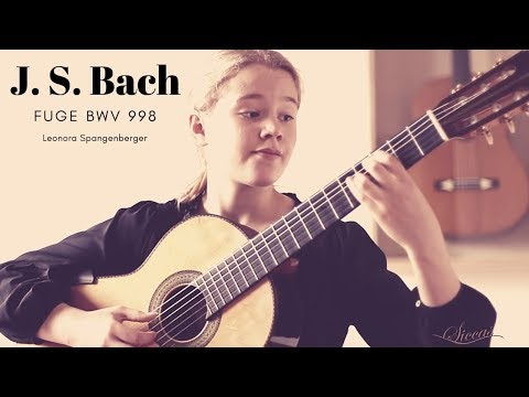 Leonora Spangenberger (11) Plays Fuge BWV 998 By J. S. Bach On A 2004 Curt Claus Voigt