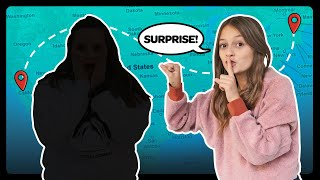 Surprising SUPER FAN At Their House CHALLENGE 1,000 miles away! EMOTIONAL REACTION❤️| Sophie Fergi
