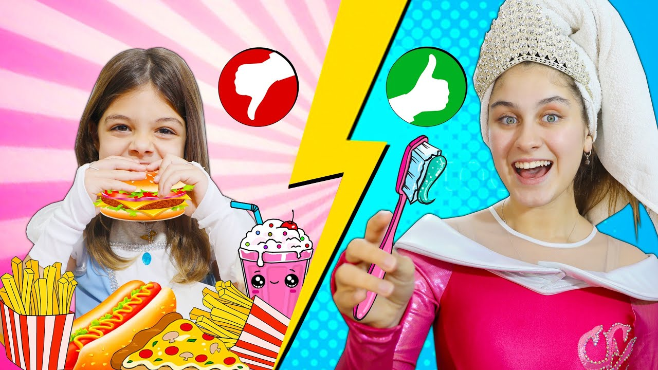 MILENINHA ENSINA REGRAS DE CONDUTA PARA PRINCESAS | Rules of Conduct for the Princesses and Kids