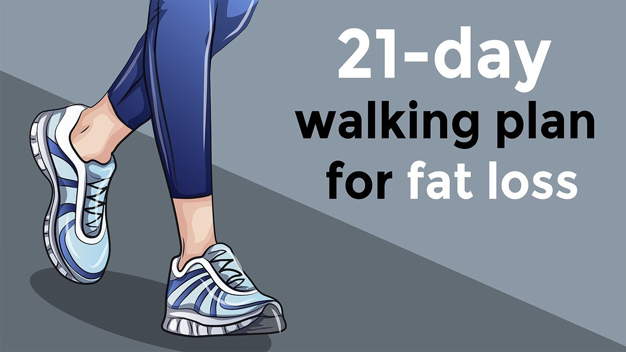 how i lost weight walking