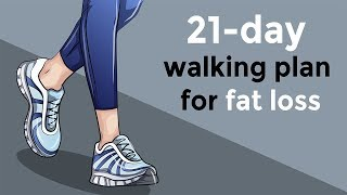 21 Day Walking Plan That Will Help You Lose Weight