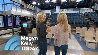 Kathie Lee And Jenna Learn Secrets Of Megyn Kelly's Studio | Megyn Kelly TODAY